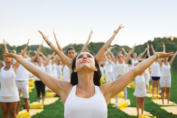 Lole White Tour Yoga Mat
