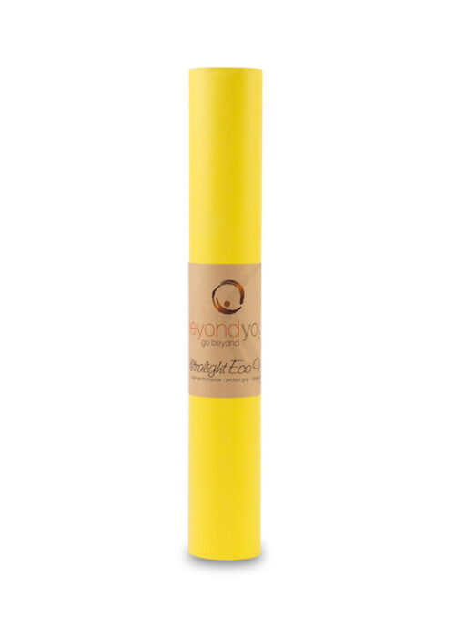 Ultralight Eco Mat 3mm Yellow Beyondyoga Ch